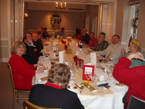 Kent and Sussex Area Christmas lunch 2014