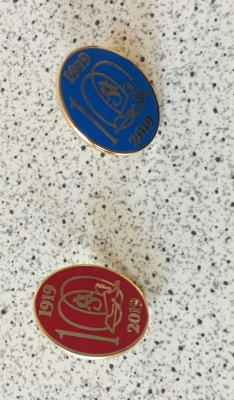 """Centenary"" Pin Badge"