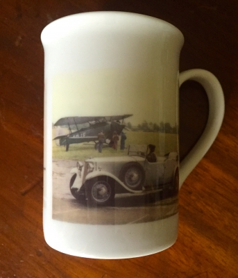 MUG with grey car