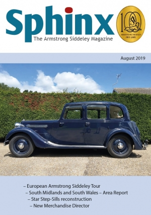 Armstrong Siddeley Owners Club, for enthusiasts and owners worldwide